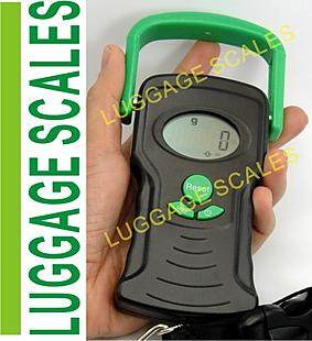 Travel Luggage Scale Hand Held Strap 100Lb 44kg