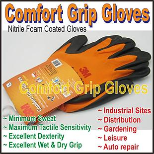 3M_Comfirt Grip Gloves_L size_Orange