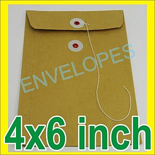Envelopes Line Kraft 4x6_50pcs