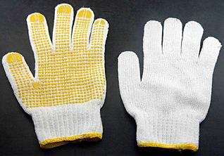 18 Pair x Cotton WORK GLOVES