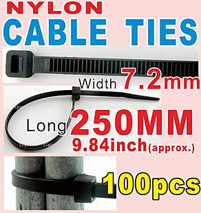 Cable Tie _250x7.2mm _black