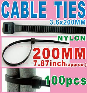 Cable Tie _200x3.6mm _black